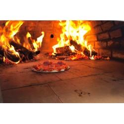Mobiler Pizzaofen für die Grillhütte