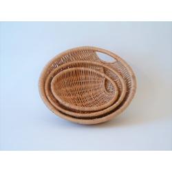 Weidekorb - runde Schale